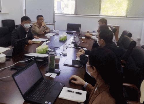 中物协参加首发投资控股公司物流发展讨论会